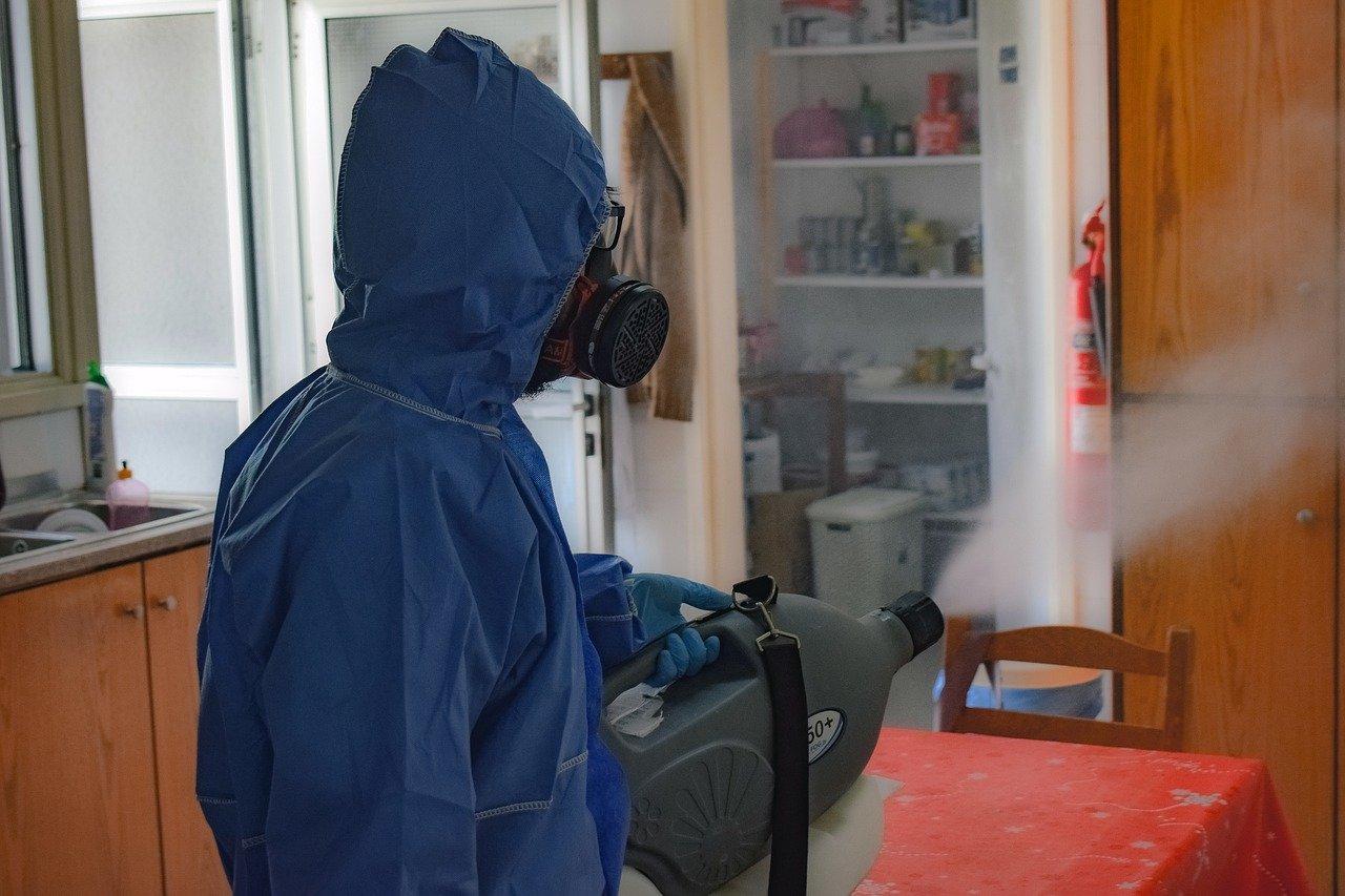 sanitización desinfección y control de plagas